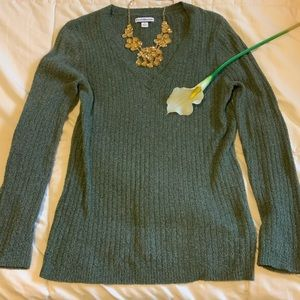Woman's v neck sweater
